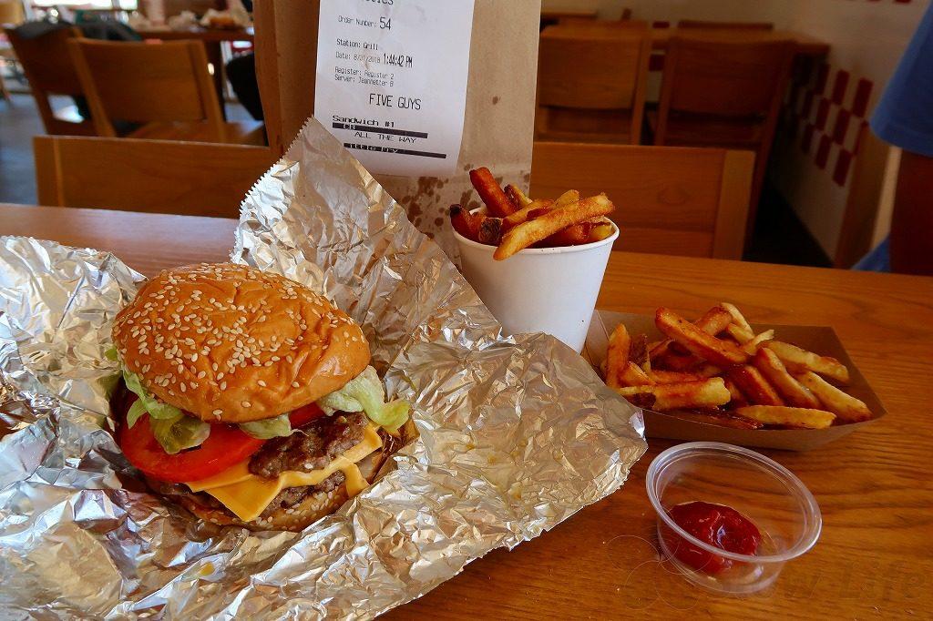 fiveguysハンバーガー