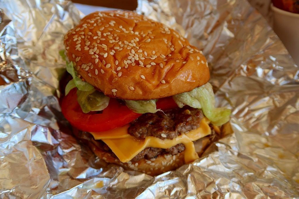 fiveguysハンバーガー2