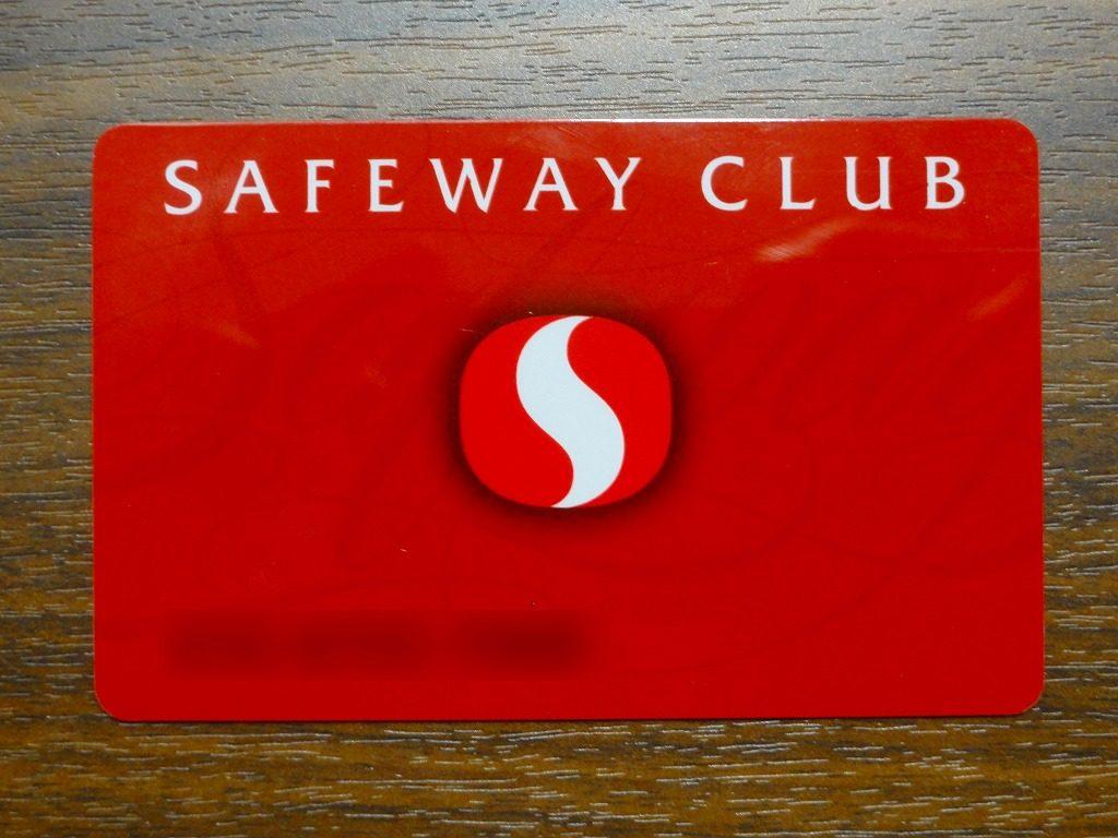 SAFEWAY CARD