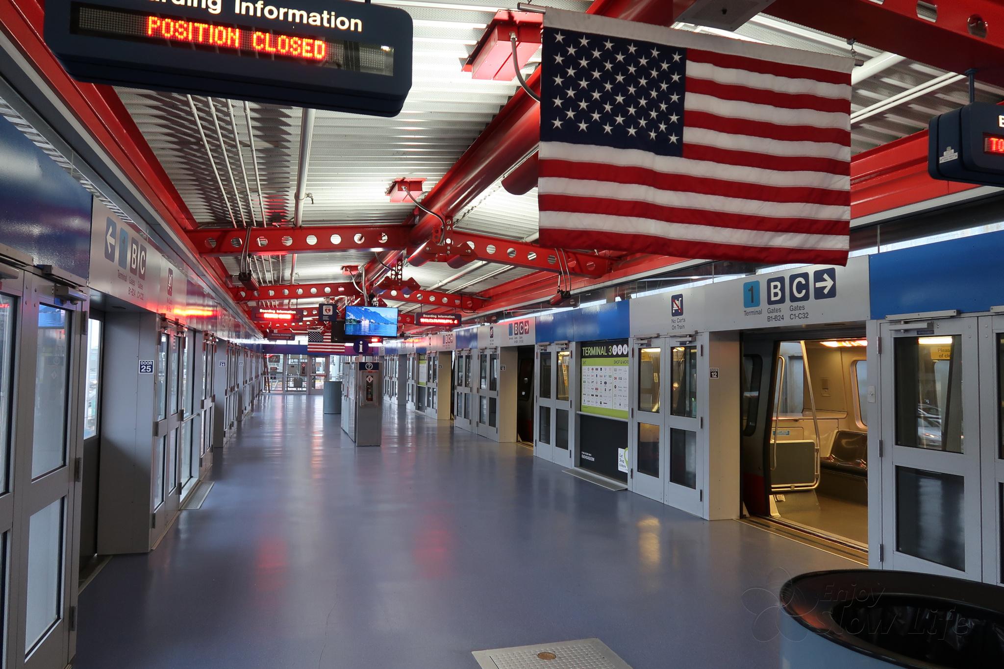 10ターミナル駅到着