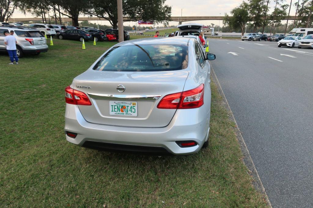 6エプコット駐車場