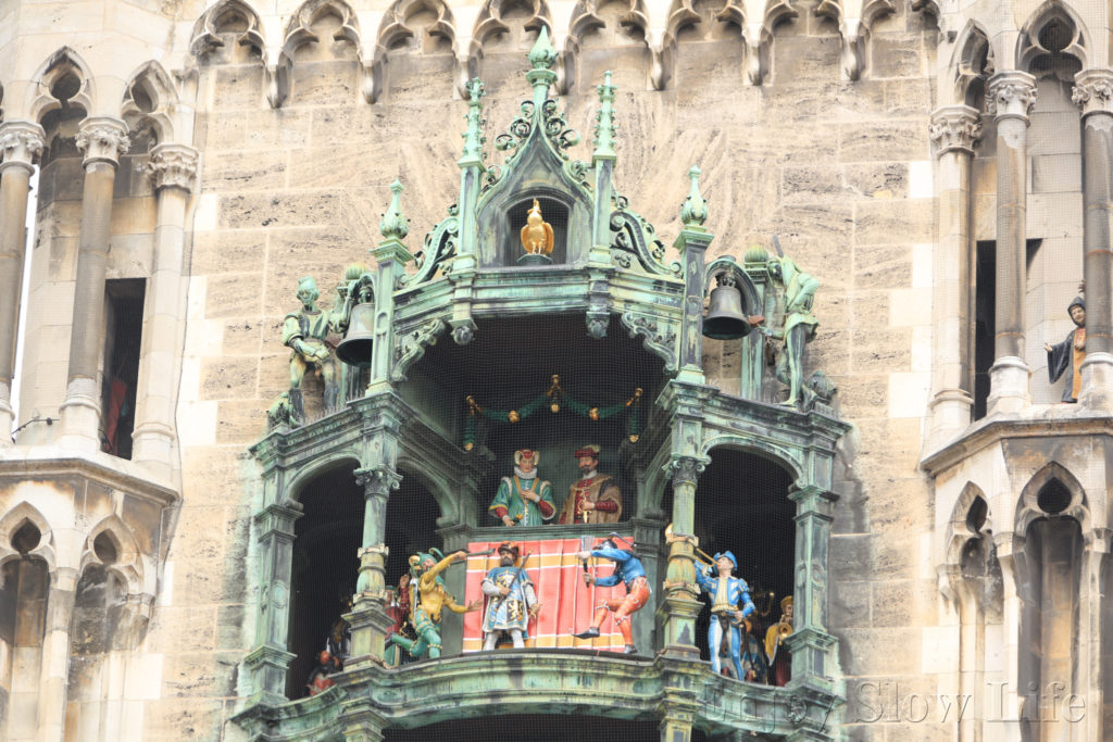 5ミュンヘン市庁舎からくり時計