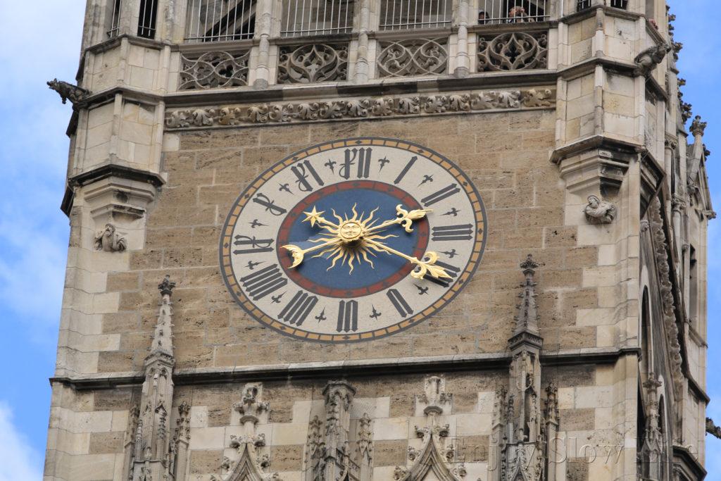 3ミュンヘン市庁舎時計