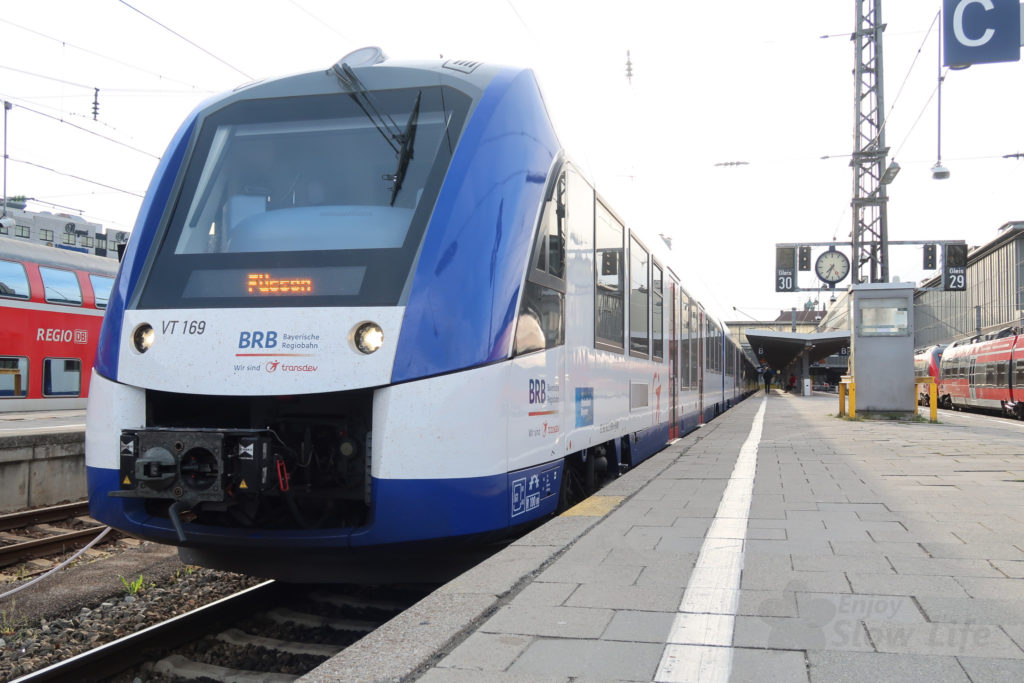 2019GWノイシュバンへ鉄道