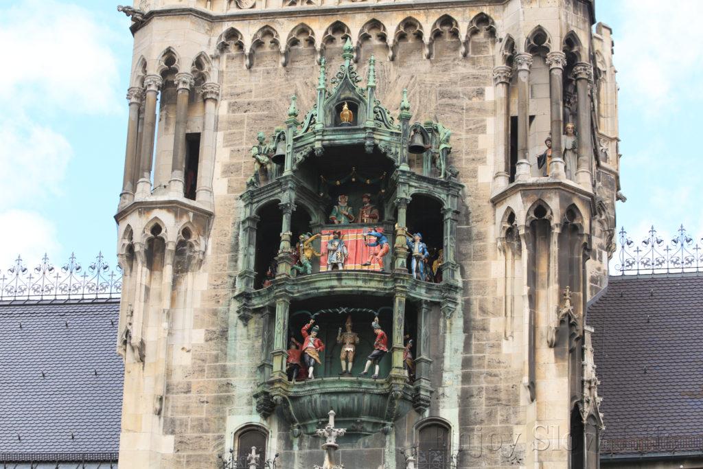 4ミュンヘン市庁舎からくり時計