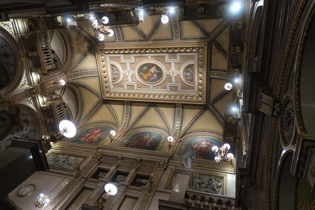 オペラ座階段 フレスコ画