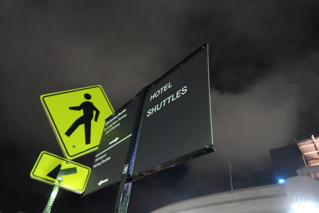 サンフランシスコ空港 ホテルシャトル2