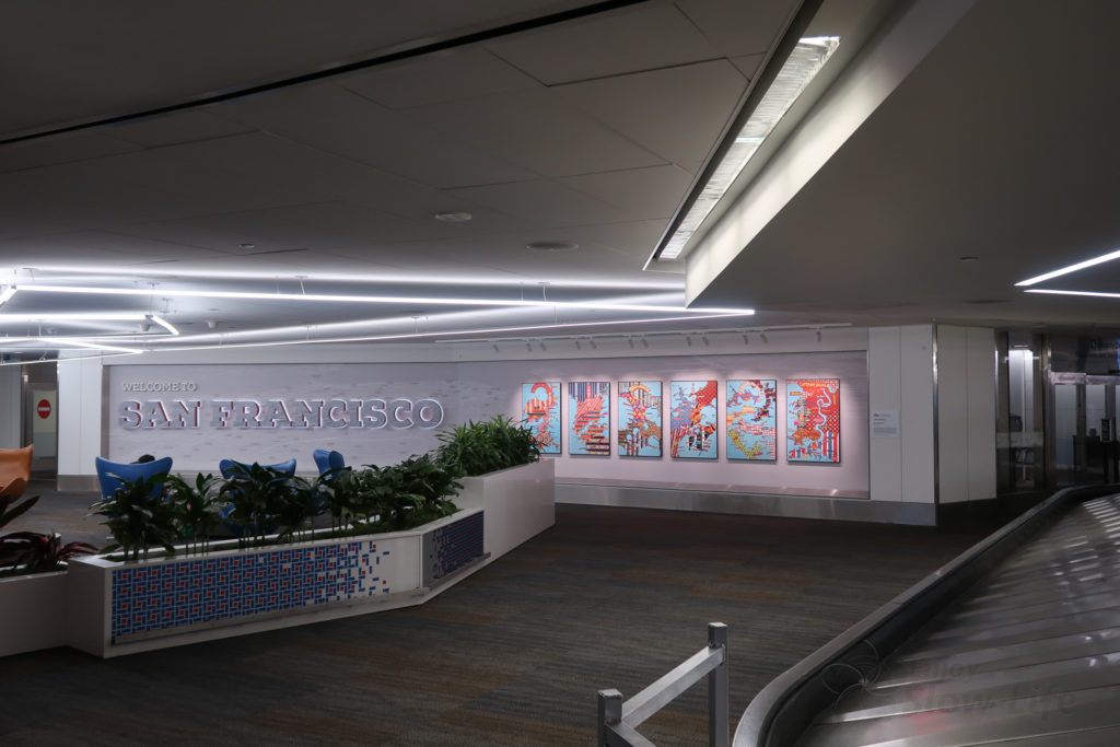 サンフランシスコ空港 20190711