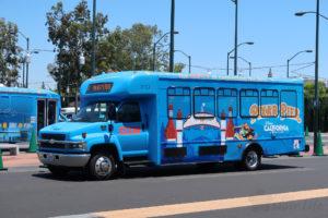 DLR カリフォルニア ディズニーランド バス ART