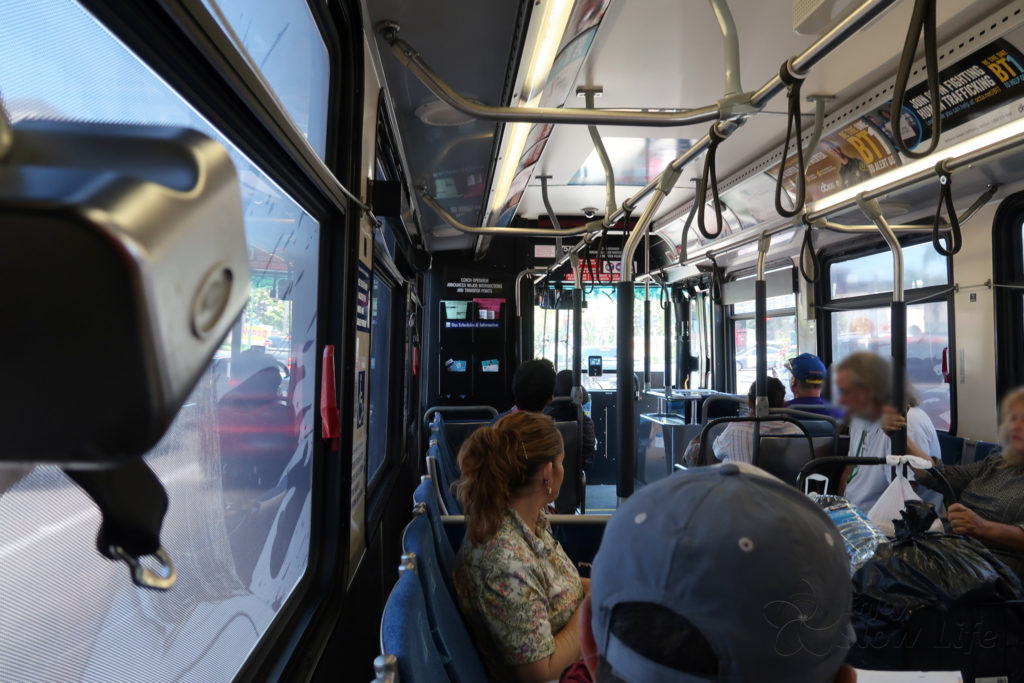 OCTA バス ディズニーランド DLR