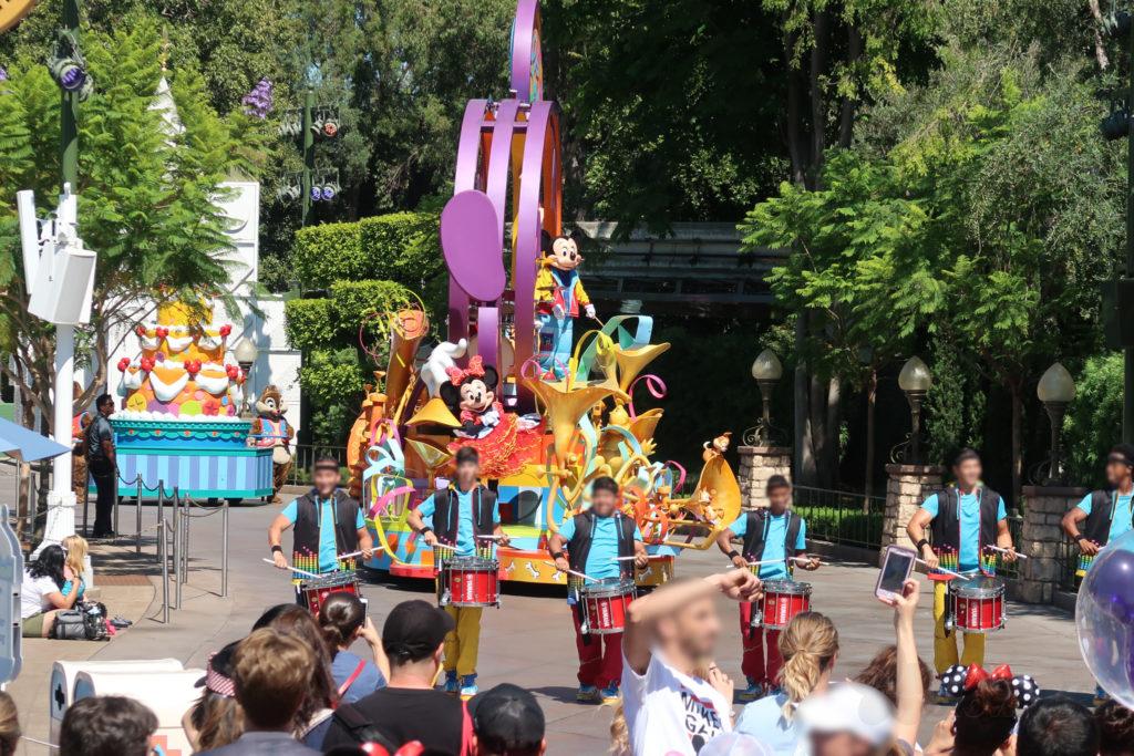 DLR ディズニーランド お昼のパレード