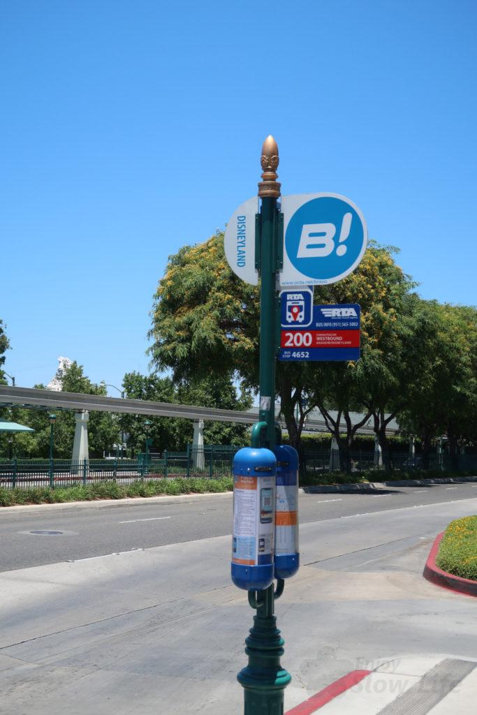 DLR OCTA バス ディズニーランドバス停