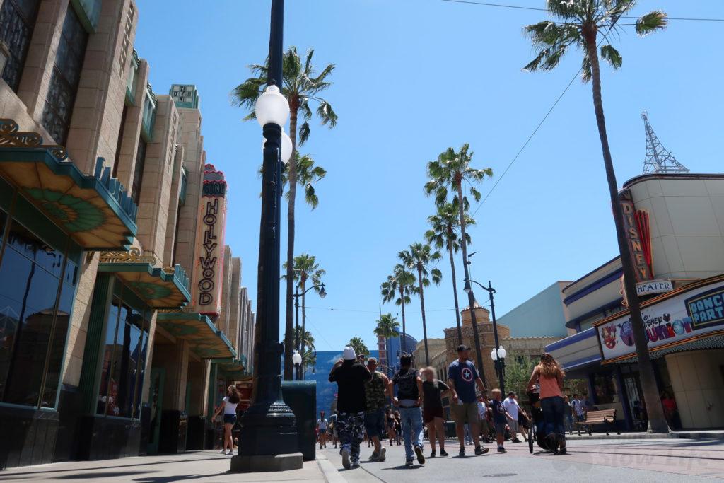 カリフォルニア・アドベンチャー ハリウッドランド