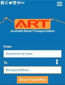 ART カリフォルニア バス