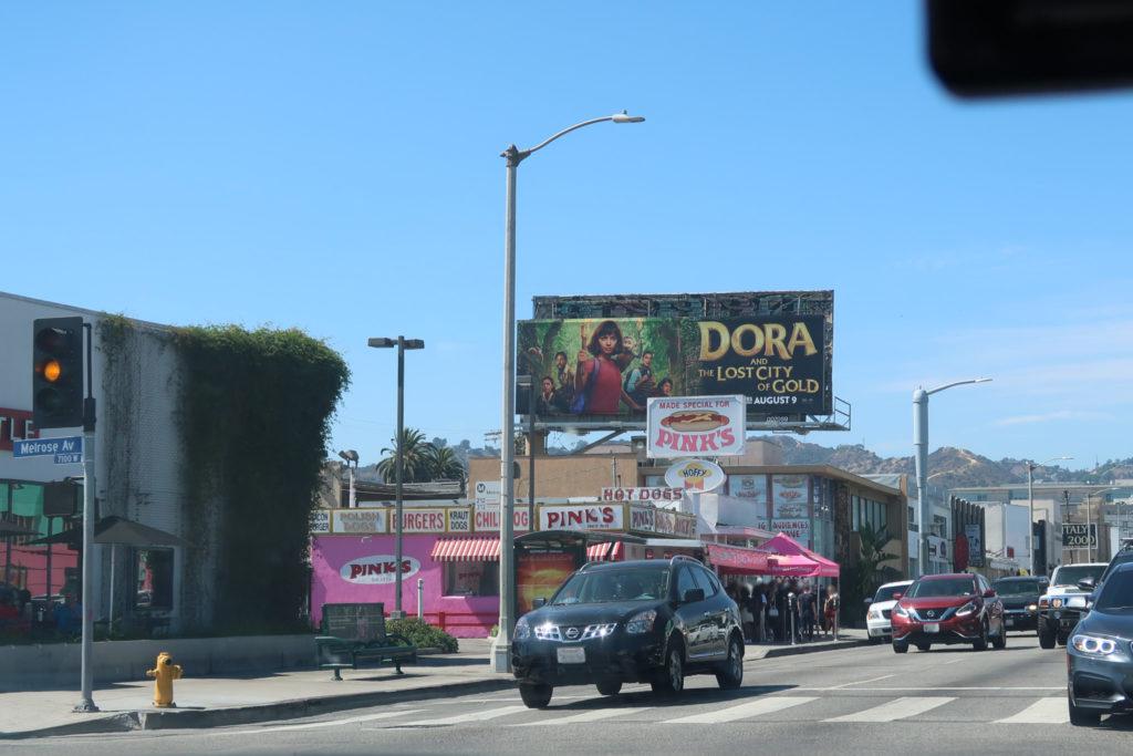 ピンクス ホットドッグ ハリウッド