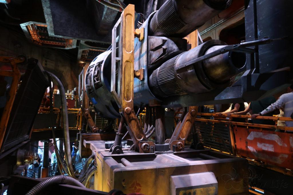 ミレニアム・ファルコン:スマグラーズ・ラン エンジン
