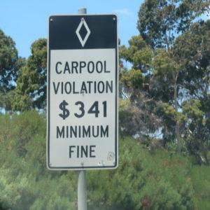 Caepool Lane 罰則金 341ドル以上