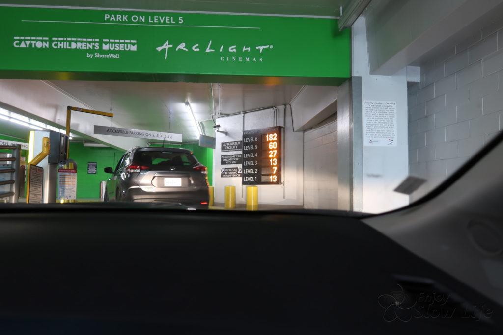 サンタモニカビーチ駐車場