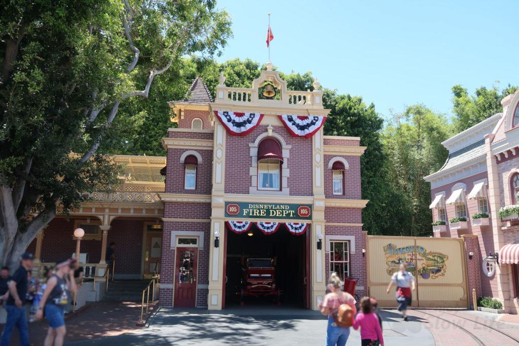 ウォルトの愛した消防署 ディズニーランド