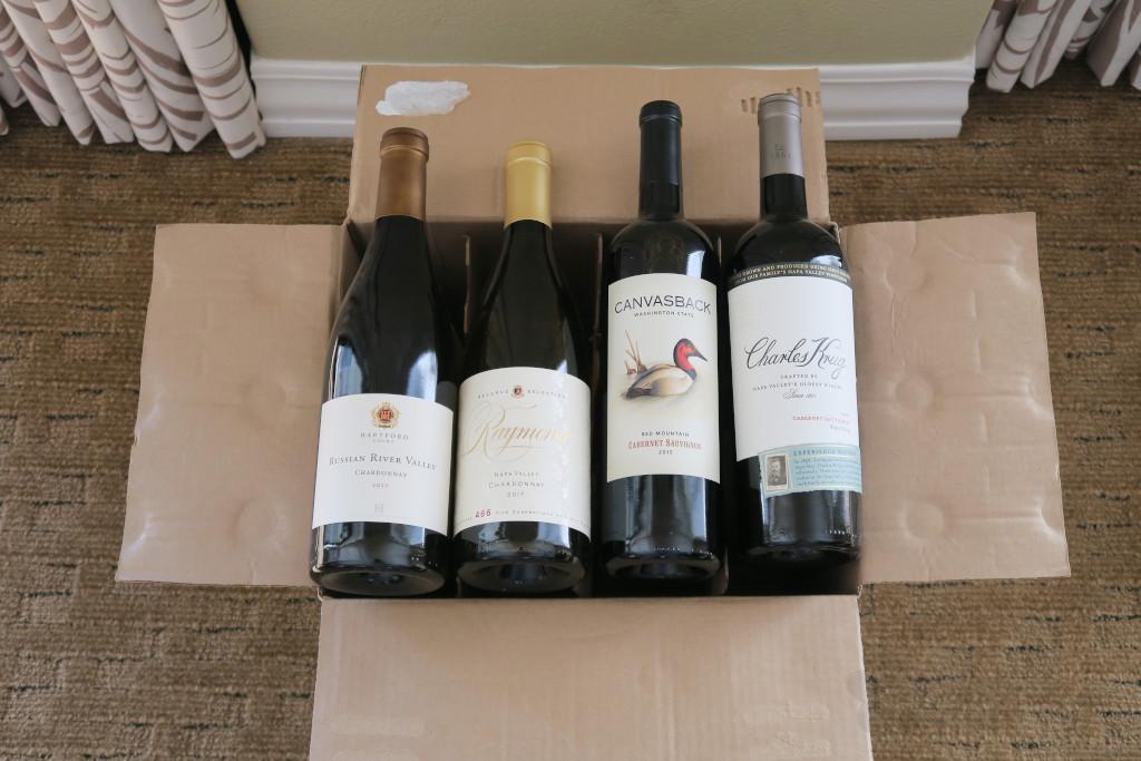 購入したワイン12本