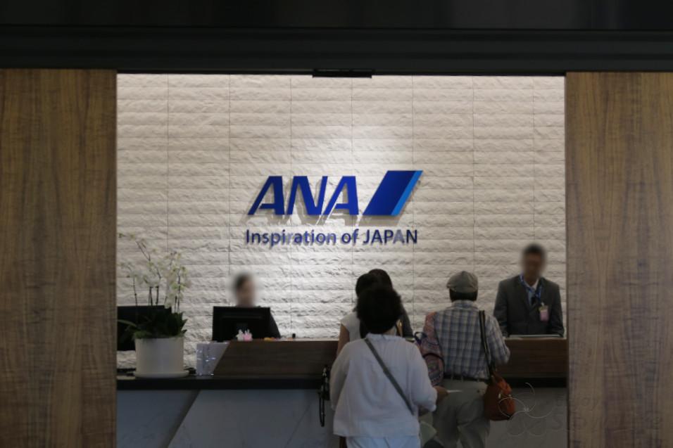 ホノルル空港 ANAラウンジフロント