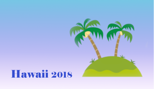 2018 Summer Hawaii